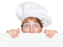Chef sign Stock Photography