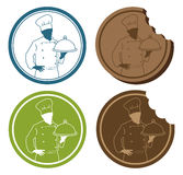 Chef sign Royalty Free Stock Photos