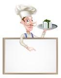 Chef Sign de cadeau Photo libre de droits