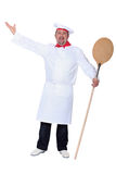 Chef singing Royalty Free Stock Images