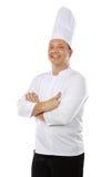 Chef smiling Stock Photos