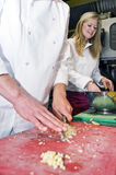 Chef and Sous-chef Royalty Free Stock Image