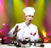 Chef star Royalty Free Stock Images