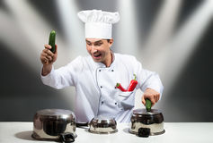 Chef star Royalty Free Stock Photos