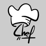 Chef sticker Stock Images