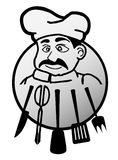 Chef symbol Stock Photo