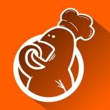 Chef symbol Royalty Free Stock Image