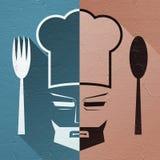 Chef symbol Stock Photography