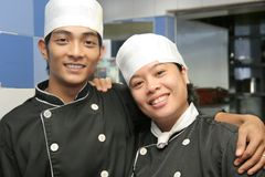 Chef team Stock Photography