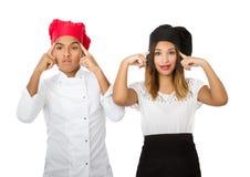 Chef team idea concept Stock Photography