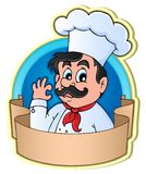 Chef theme image 3 Stock Image