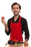 Chef tomatoe Stockfotografie