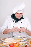 Chef in uniform Royalty Free Stock Photos