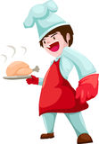 Chef vector Stock Photography