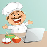The Chef Royalty Free Stock Images