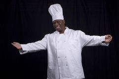 Chef - Welcome! Royalty Free Stock Photos