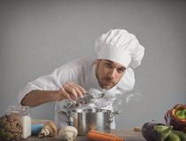 Chef will delight Royalty Free Stock Photography