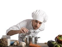 Chef will delight. With the food perfume stock photos