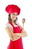 Chef woman Stock Image