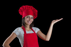 Chef woman Royalty Free Stock Images