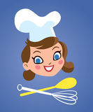 Chef woman Royalty Free Stock Photo