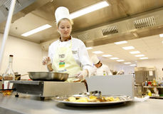 Chef woman Royalty Free Stock Photography