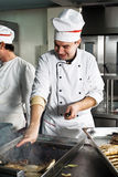 Chef at work Royalty Free Stock Photography