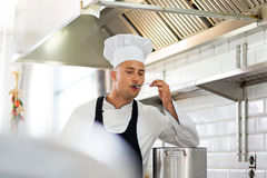 Chef at work Royalty Free Stock Image