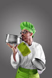 Chef working Royalty Free Stock Image