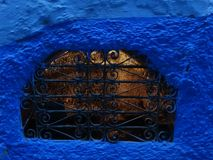 Chefchaouen, μπλε πόλη του Μαρόκου Στοκ Φωτογραφίες