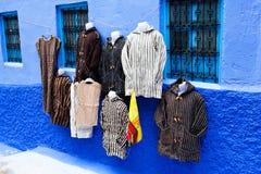 Chefchaouen голубой Medina, Марокко Стоковое Изображение