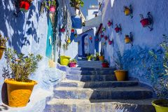 Chefchaouen Photo stock
