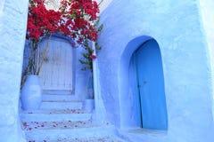 Chefchaouen azul Imagem de Stock
