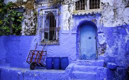 Chefchaouen, the Blue City. In Morocco, Africa Royalty Free Stock Image