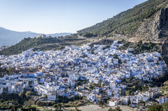 Chefchaouen. The 'Blue City' in Rif Mountains of Morocco Royalty Free Stock Images