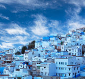 Chefchaouen blue medina in Morocco, Africa Stock Images