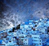 Chefchaouen blue medina in Morocco, Africa Stock Photos