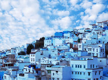 Chefchaouen blue medina in Morocco, Africa Royalty Free Stock Photography