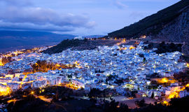 Chefchaouen blue medina in Morocco, Africa Royalty Free Stock Images