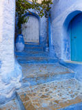 Chefchaouen Entryway Royalty Free Stock Image
