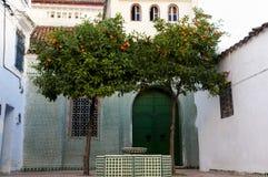Chefchaouen Kasbah - Марокко Стоковые Изображения