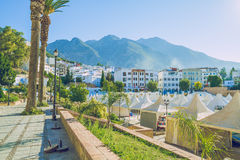 Chefchaouen,Marocco, 2013. Spring in Africa. View strets, nature Stock Photo