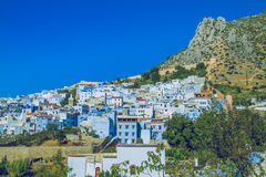Chefchaouen,Marocco, 2013. Spring in Africa. View strets, nature Royalty Free Stock Photo