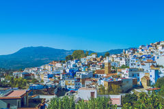 Chefchaouen,Marocco, 2013. Spring in Africa. View strets, nature Stock Images