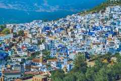 Chefchaouen,Marocco, 2013. Spring in Africa. View strets, nature Stock Photography