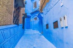 Chefchaouen, Marocco, 2013 Wiosna w Afryka Widoków strets, natura Zdjęcia Royalty Free
