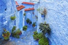 Chefchaouen, Marokko stock fotografie