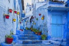 Chefchaouen, Marokko Stock Foto