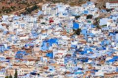 Chefchaouen in Marokko Stock Afbeelding