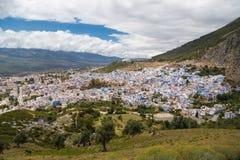 Chefchaouen Marrocos Imagem de Stock Royalty Free